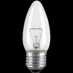 лампа накаливания ИСКРА B35-40w-E27-CL