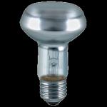 лампа накаливания ИСКРА R63-60w-E27-CL